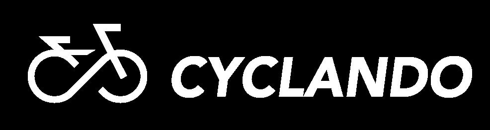 cyclando logo bianco